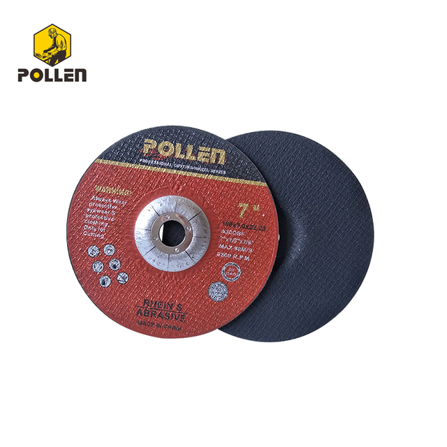 "7"" Polishing Wheels, 3mm Thickness, 22.23mm Arbor Size, A30S"