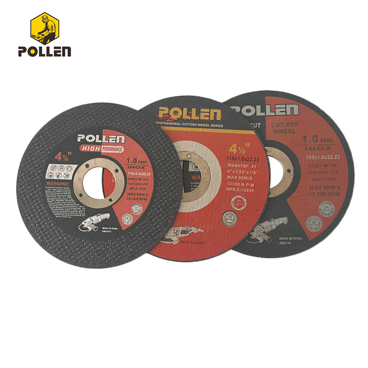 4-1/2In China Wholesale High Quality Reinforced Cutting Disc