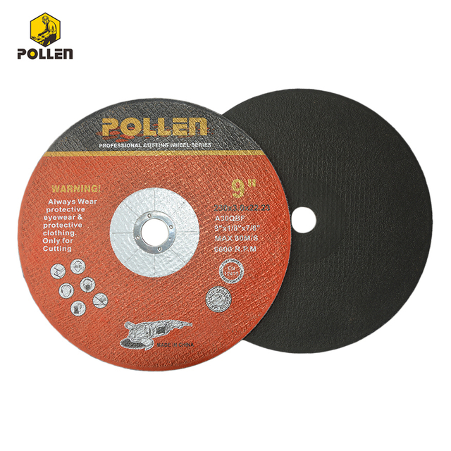 "9""x1/8"" Durable Lasting Abrasive Cutting Disk, China Supplier Type 1 简介: 详情:Details: 9""x1/8"" Durable Lasting Abrasive Cutting Disk, China Supplier Type 1 Mfr. Model: RS6176 Technical Specs Title: Cho"